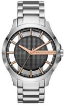 Armani Exchange Hampton Silver Watch