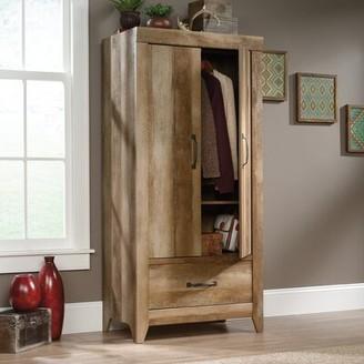 Mald Storage Armoire Gracie Oaks Color: Craftsman Oak