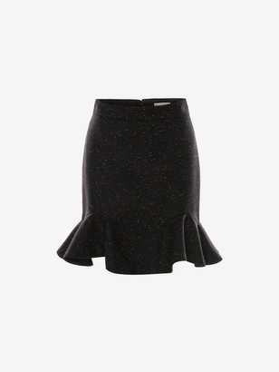 Alexander McQueen Donegal Mini Skirt