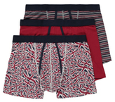George 3 Pack Assorted A-Front Trunks
