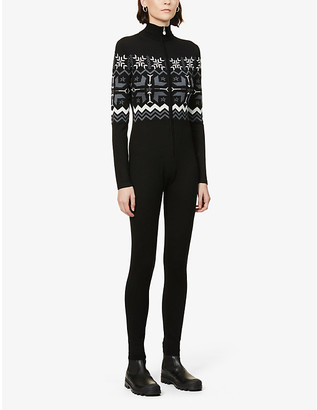 Perfect Moment Nordic Fairisle-print wool jumpsuit