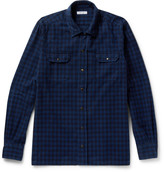 Boglioli - Checked Cotton-flannel Shirt