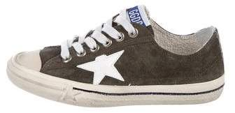 Golden Goose VStar 2 Distressed Sneakers w/ Tags