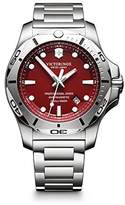 Victorinox Men's 'I.N.O.X.' Swiss Quartz Stainless Steel Casual Watch, Color:Silver-Toned (Model: 241783)