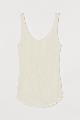 H&M Silk-blend Tank Top