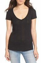 BP Women's Rib Knit Tee