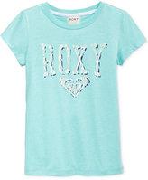 Roxy Graphic-Print T-Shirt, Little Girls (2-6X)