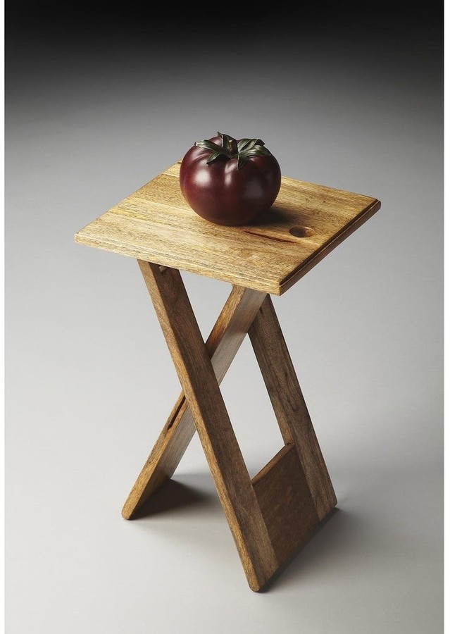 Thumbnail for your product : Butler Handmade Hammond Natural Wood Folding Table
