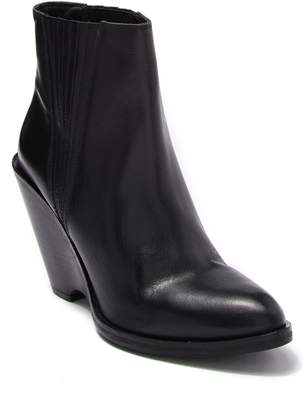 Seychelles Park Leather Wedge Boot