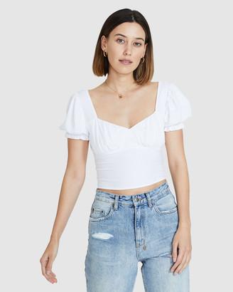 Don't Ask Amanda Gracie Billow Short Sleeve Top