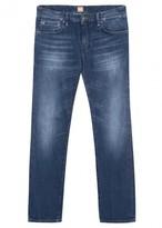 Boss Orange Barca Blue Slim-leg Jeans