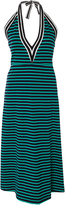 Cynthia Rowley Lisbon Striped Halter Midi Dress