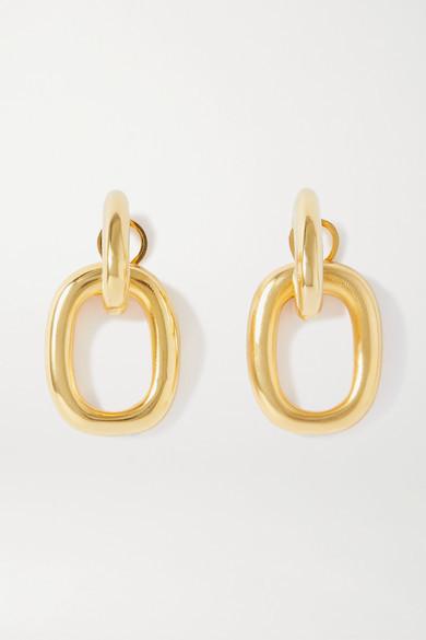 Kenneth Jay Lane Gold-tone Earrings - one size