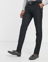 Celio suit trouser in black