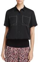 DKNY Short Sleeve Collared Shirt