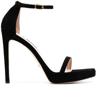 Stuart Weitzman Disco stiletto heel sandals