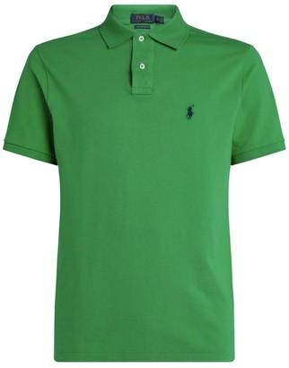 Ralph Lauren Custom Cotton Mesh Polo Shirt