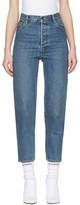 Vetements Blue Levi's Edition Classic High Waist Jeans