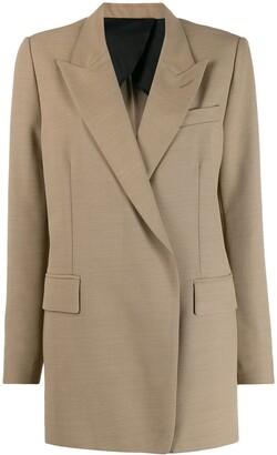 AMI Paris Long Single-Breasted Blazer