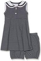 Rachel Riley Baby Girls' Striped Sailor Bloomers Dress