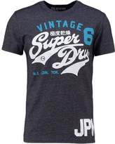 Superdry Print Tshirt Eclipse Navy