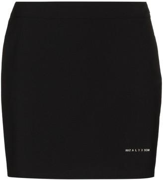 Alyx Logo-Print Mini Skirt