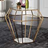 Safavieh Couture Abena Geometric End Table