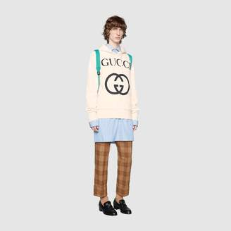 Gucci Cotton sweatshirt with logo