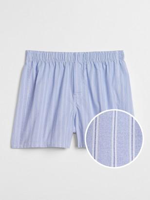 "Gap 4.5"" End-on-End Stripe Boxers"