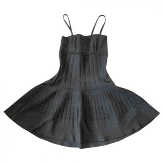 Chanel Grey Polyester Dresses