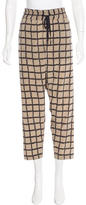 Rag & Bone Silk Straight-Leg Pants