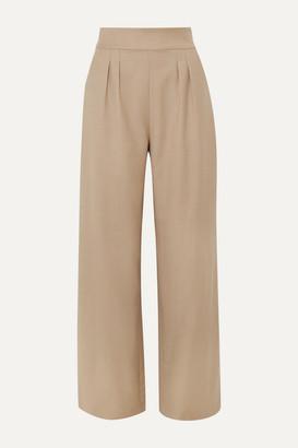AAIZÉL + Net Sustain Wool-blend Wide-leg Pants
