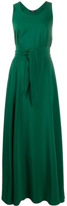 Aspesi Tie-Waist Silk Dress