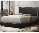 Bed Bath & Beyond Duncombe Designer Queen Bed with Upholstered Headboard