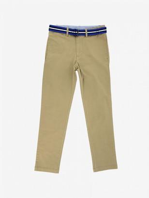 Polo Ralph Lauren Boy Trousers With Belt
