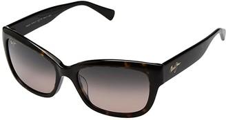 Maui Jim Plumeria (Dark Tortoise/HCL Bronze) Athletic Performance Sport Sunglasses