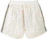 Ashish sequin embellished shorts - women - Cotton - M