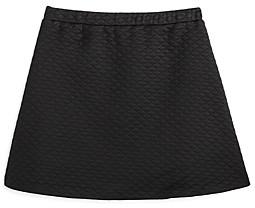 Aqua Girls' Quilted Skirt, Big Kid - 100% Exclusive