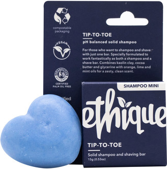 Éthique Tip-To-Toe Solid Shampoo & Shaving Bar Mini 15G