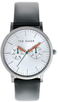 Ted Baker Mens Multifunction Leather Strap Watch 10009291