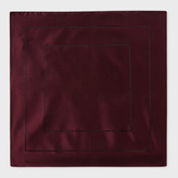 Paul Smith Men's Burgundy Concentric Square Pattern Silk Pocket Square