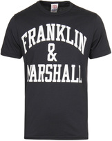 Franklin & Marshall Bold Beige Melange Crew Neck T-shirt