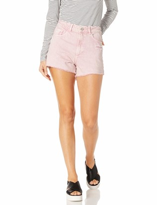 DL1961 Women's Cleo-High Rise Jean Short
