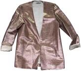 Roseanna Pink Silk Jacket for Women