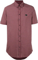 DSQUARED2 short sleeve check shirt - men - Cotton - 46