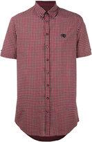 DSQUARED2 short sleeve check shirt - men - Cotton - 50