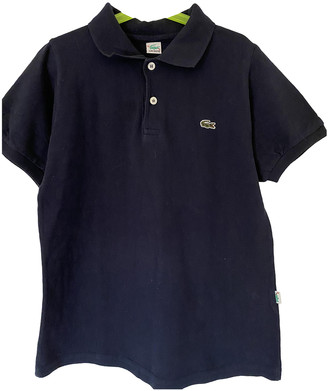 Lacoste Blue Cotton Tops