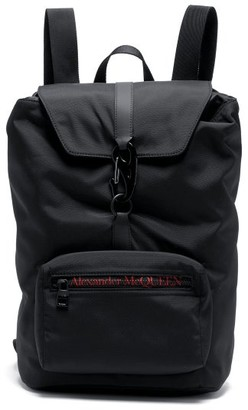 Alexander McQueen Urban Medium Carabiner-buckle Technical Backpack - Black