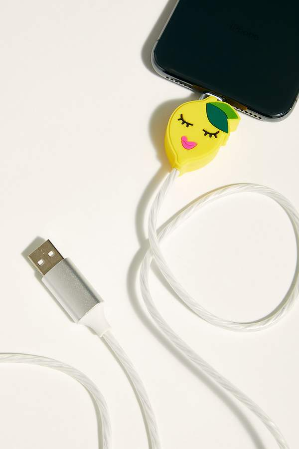 IPHORIA Lemon Is Power Lightning Cable