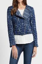 Soft Joie Navy Ikat Jacket